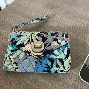 Vera Bradley Camofloral Compact Wallet